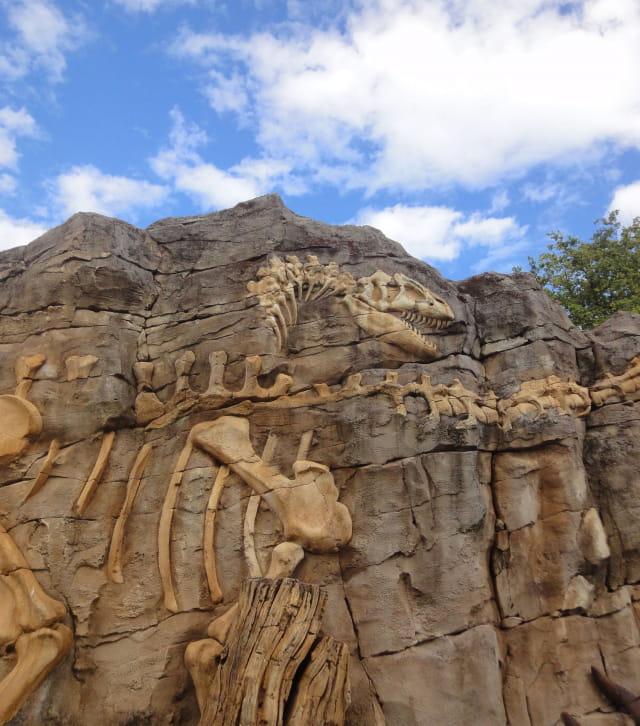 La parc à thème Dino-Zoo