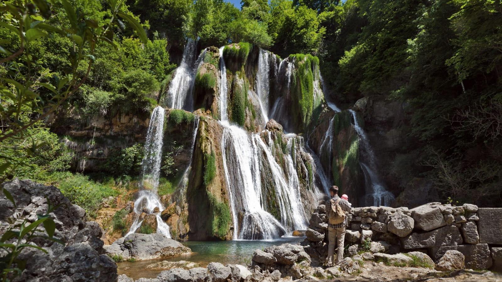 Cascade de Glandieu, visite en famille