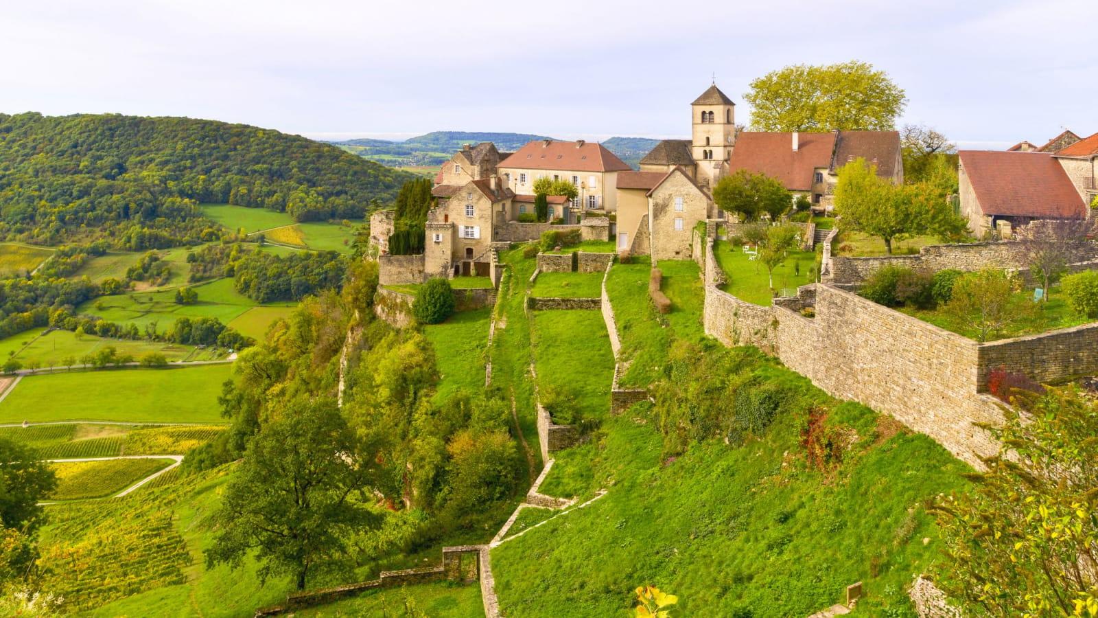 Un week-end dans le Jura : balade à Château-Chalon