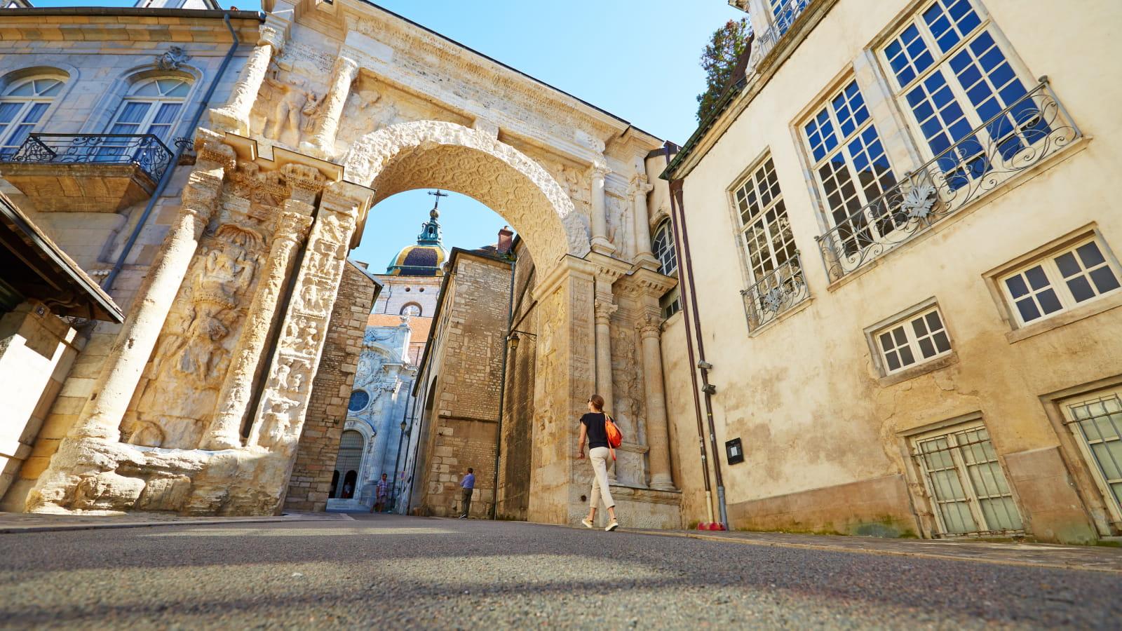 visite du centre ville de Besançon