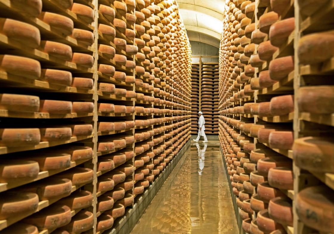 Le comté, un fromage des montagnes du Jura