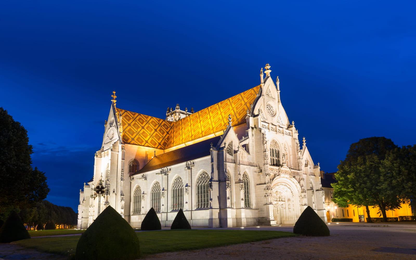 Le monastère de Brou à Bourg-en-Bresse