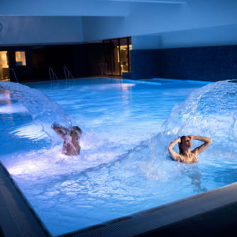 La piscine de ThermaSalina - Complexe thermal de Salins-les-Bains