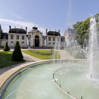 Le parc des thermes de Lons-le-Saunier