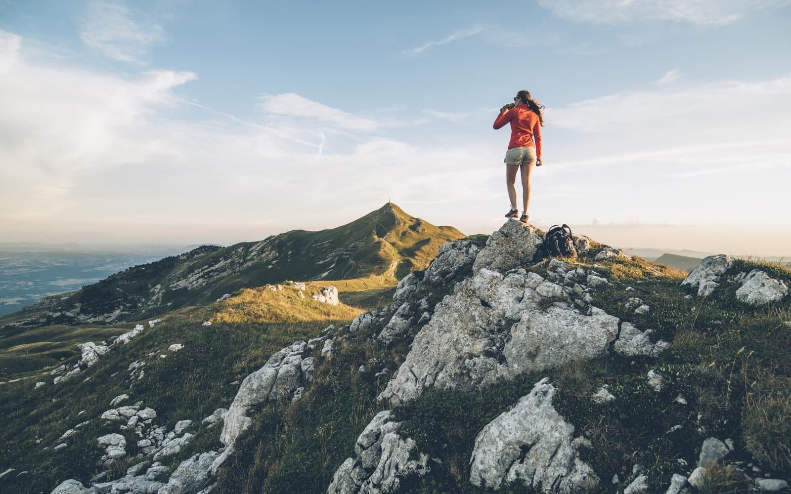 Randonnée sur les crètes du Jura