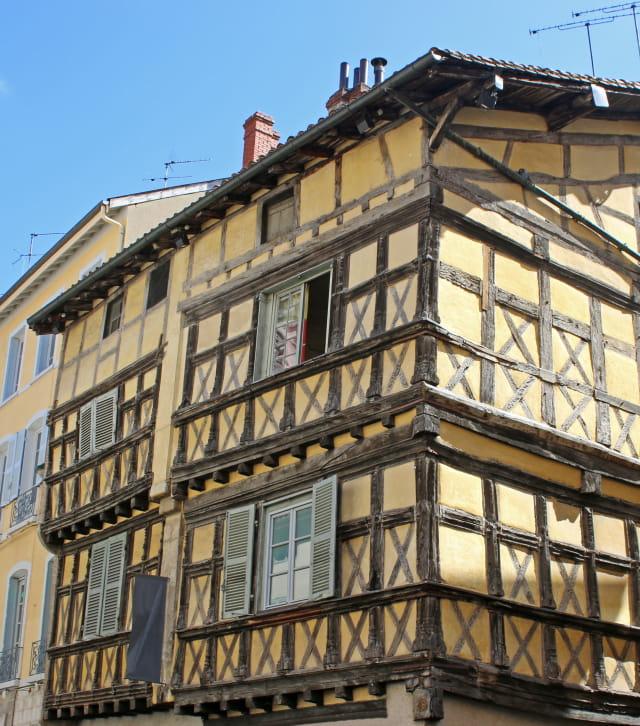 Quartier médiéval de Bourg-en-Bresse