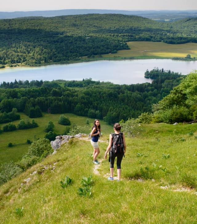 Circuit rando Belvédère des 4 lacs et Pic de l'Aigle