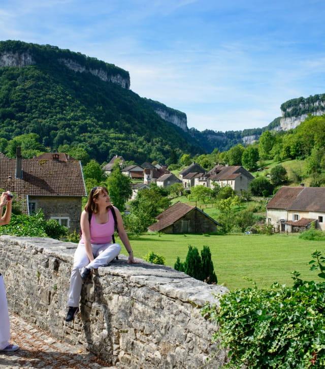 Rando à Baume-les-Messieurs dans le Jura