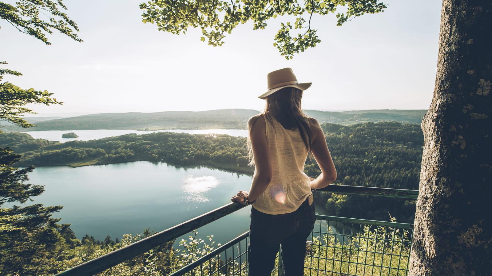 Le belvédère des 4 lacs en été