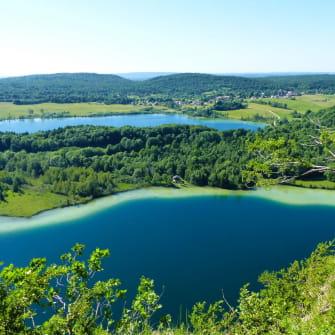 Point de vue depuis le belvédère des 4 lacs