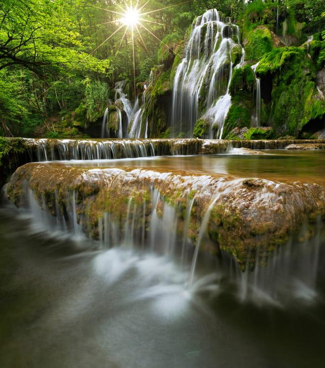 La cascades des Tufs aux Planches-Près-d'Arbois