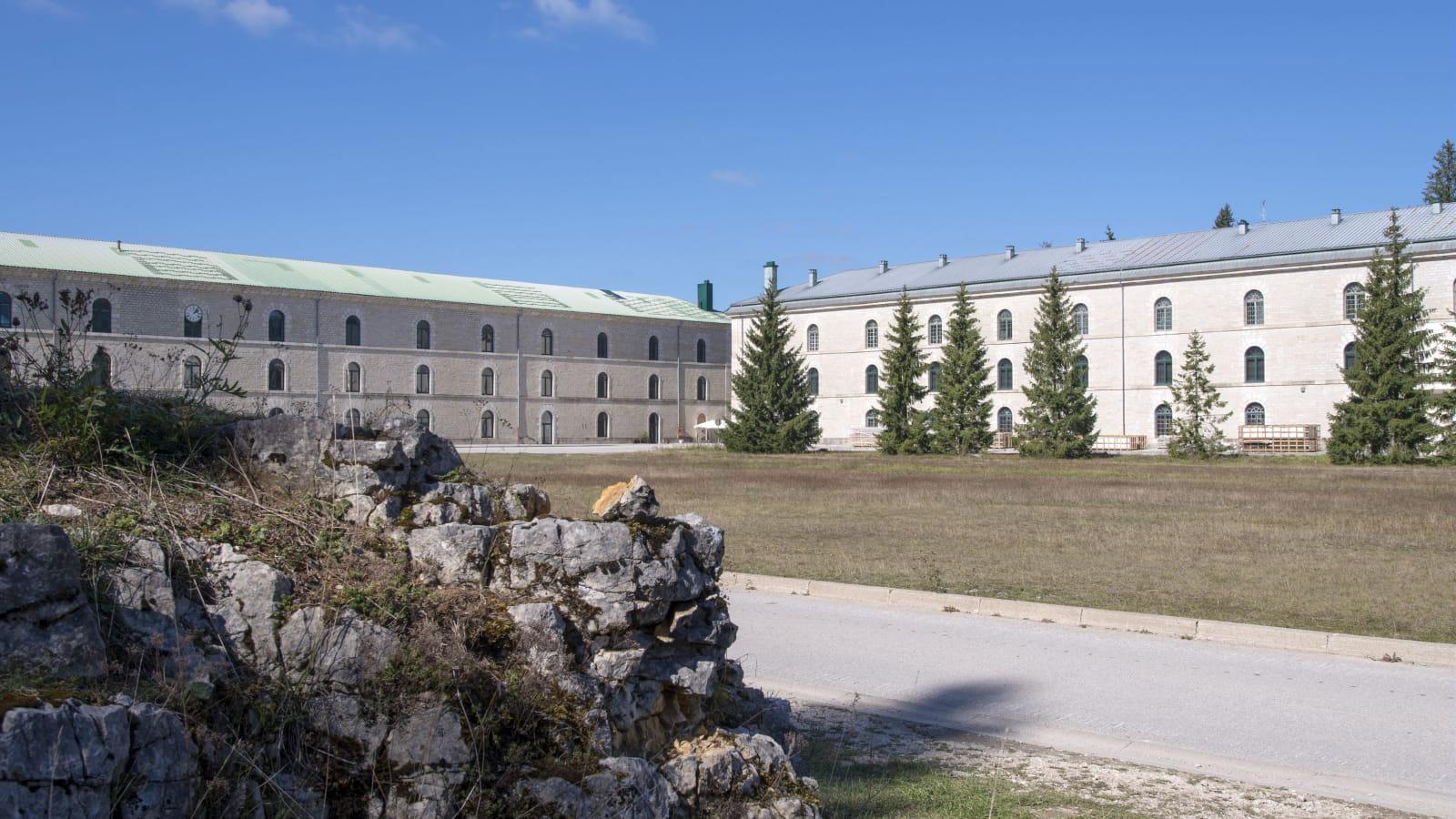 Vue extérieure du Fort des Rousses