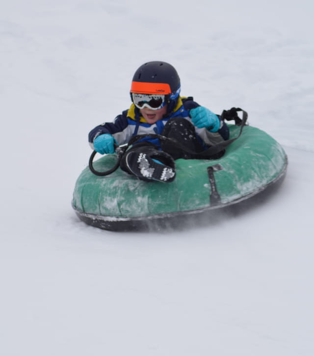 Bouée sur neige au Gounefay