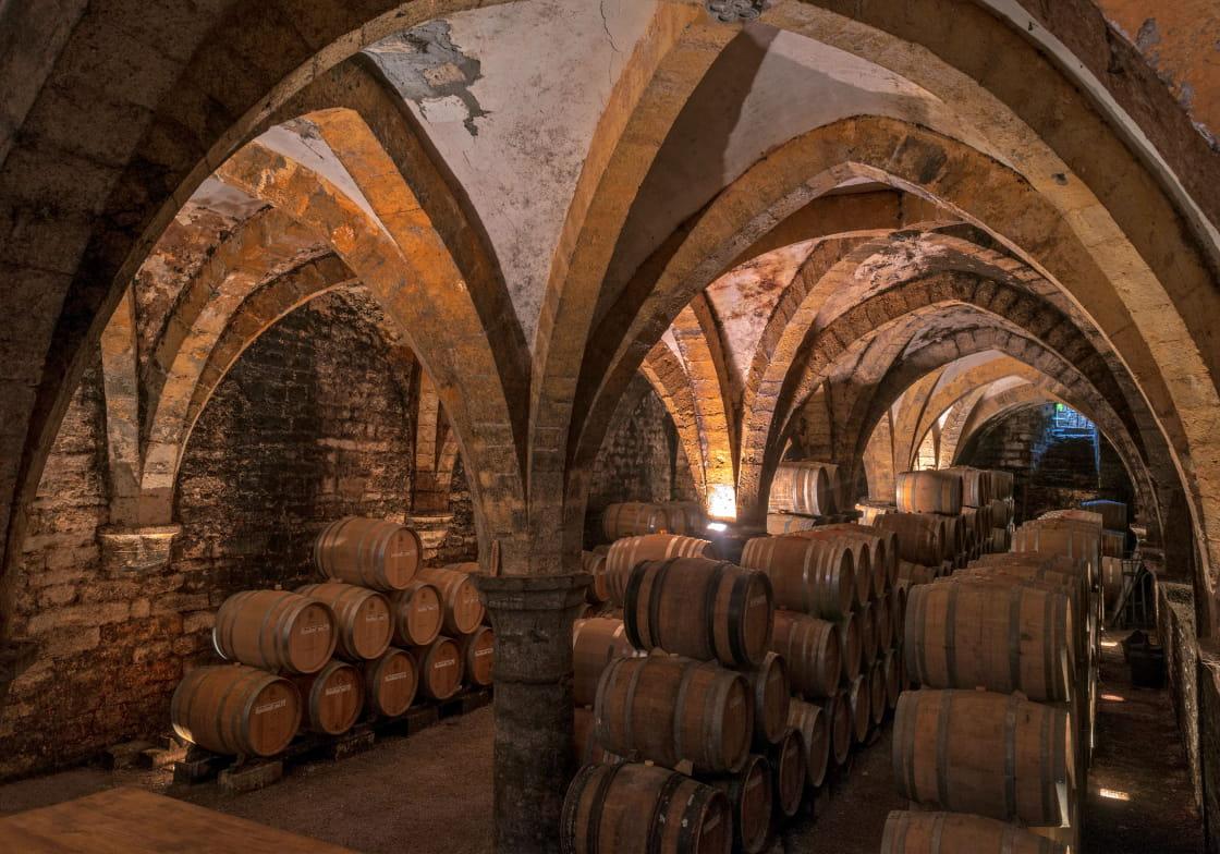 Cave de la Reine Jeanne Arbois