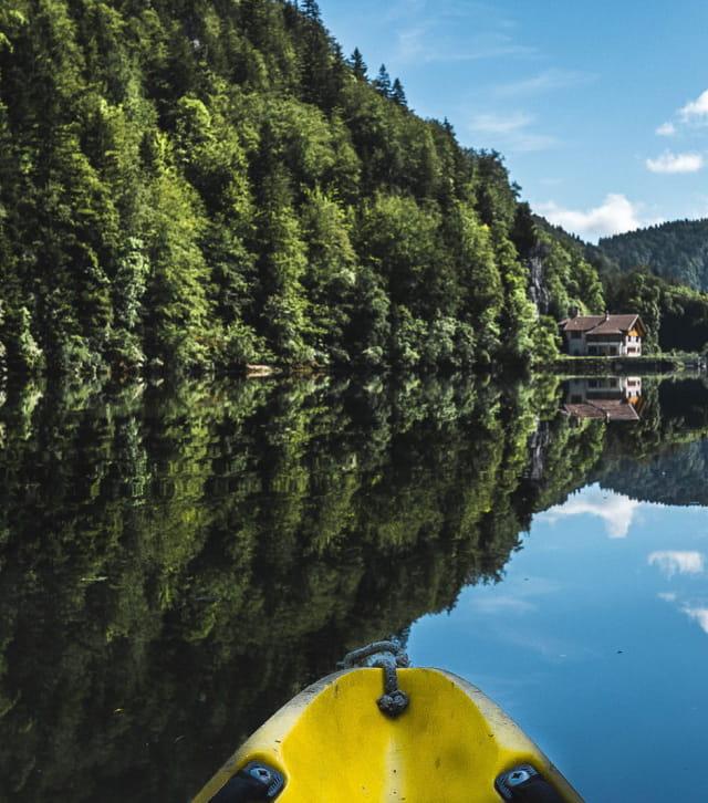 La Vallée de la Loue en canoe