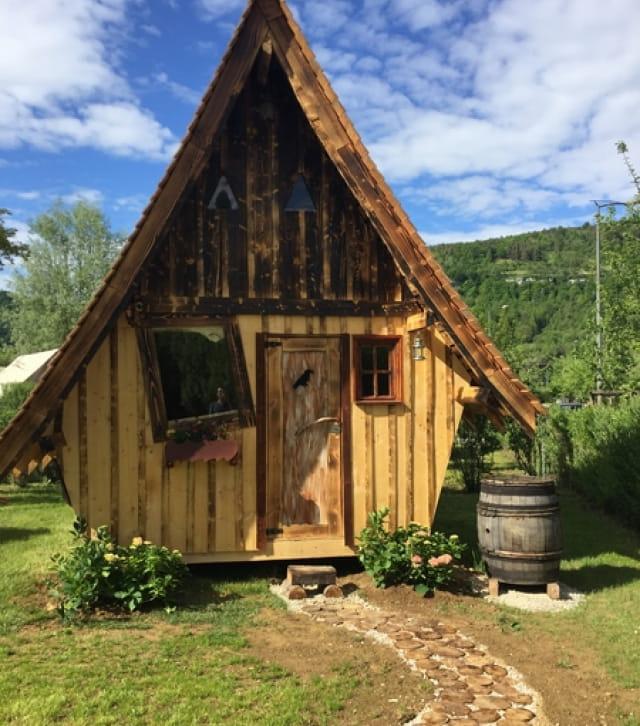 Faerie cottage vue exterieure