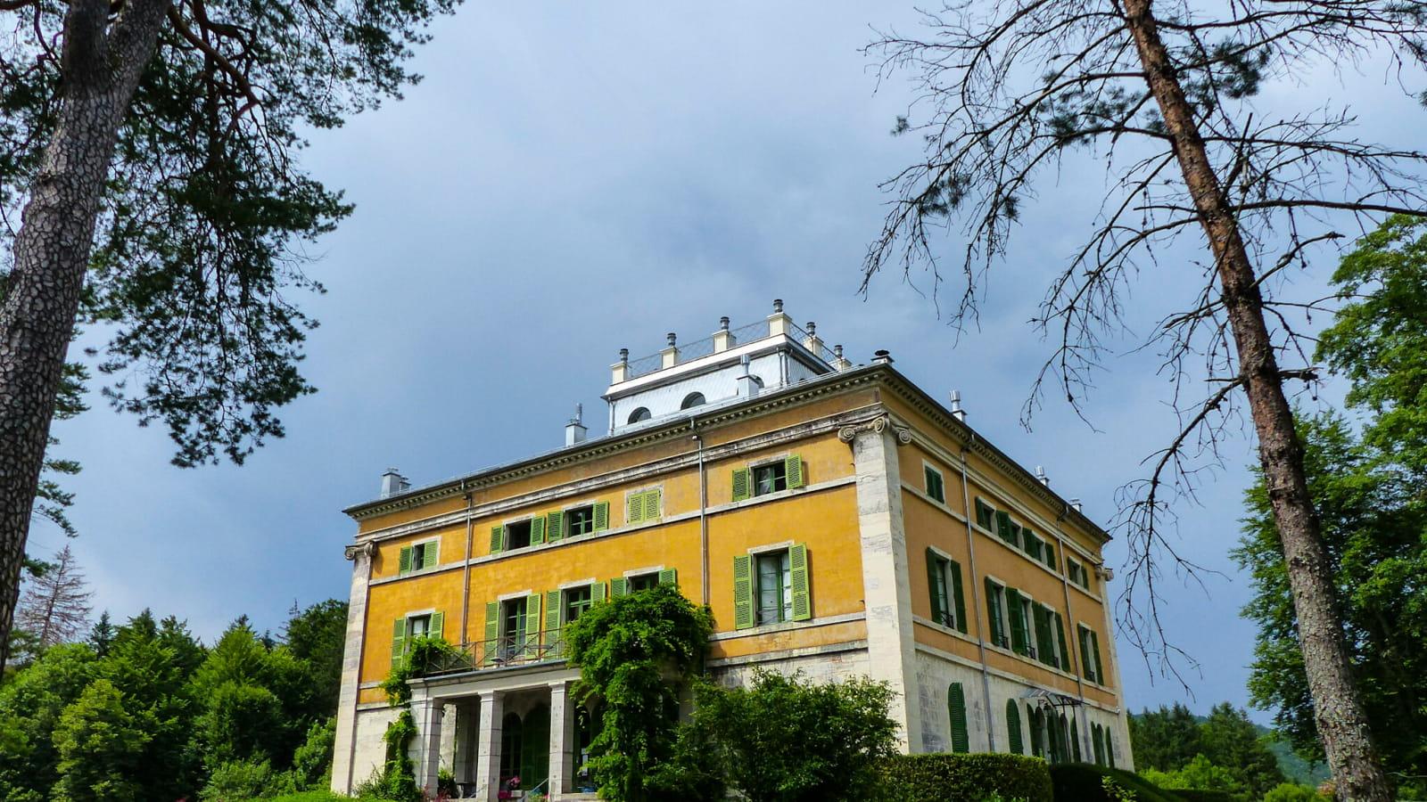 Chateau de Syam - Villa palladienne