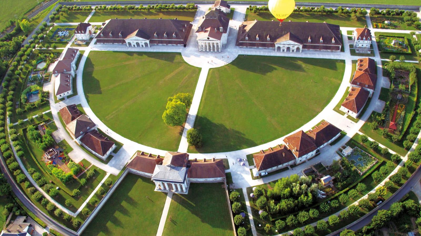 La saline royale et son architecture exptcionnelle