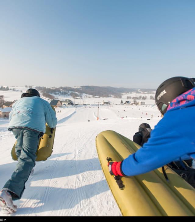 Luge, Air Board et snow Tubbing dans l'Ain