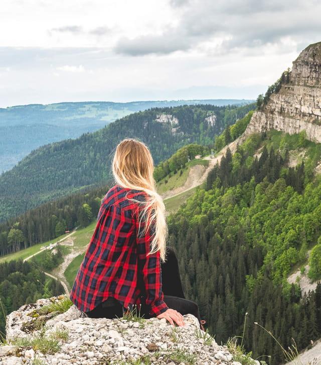 Panorama depuis le sommet du Mont d'Or