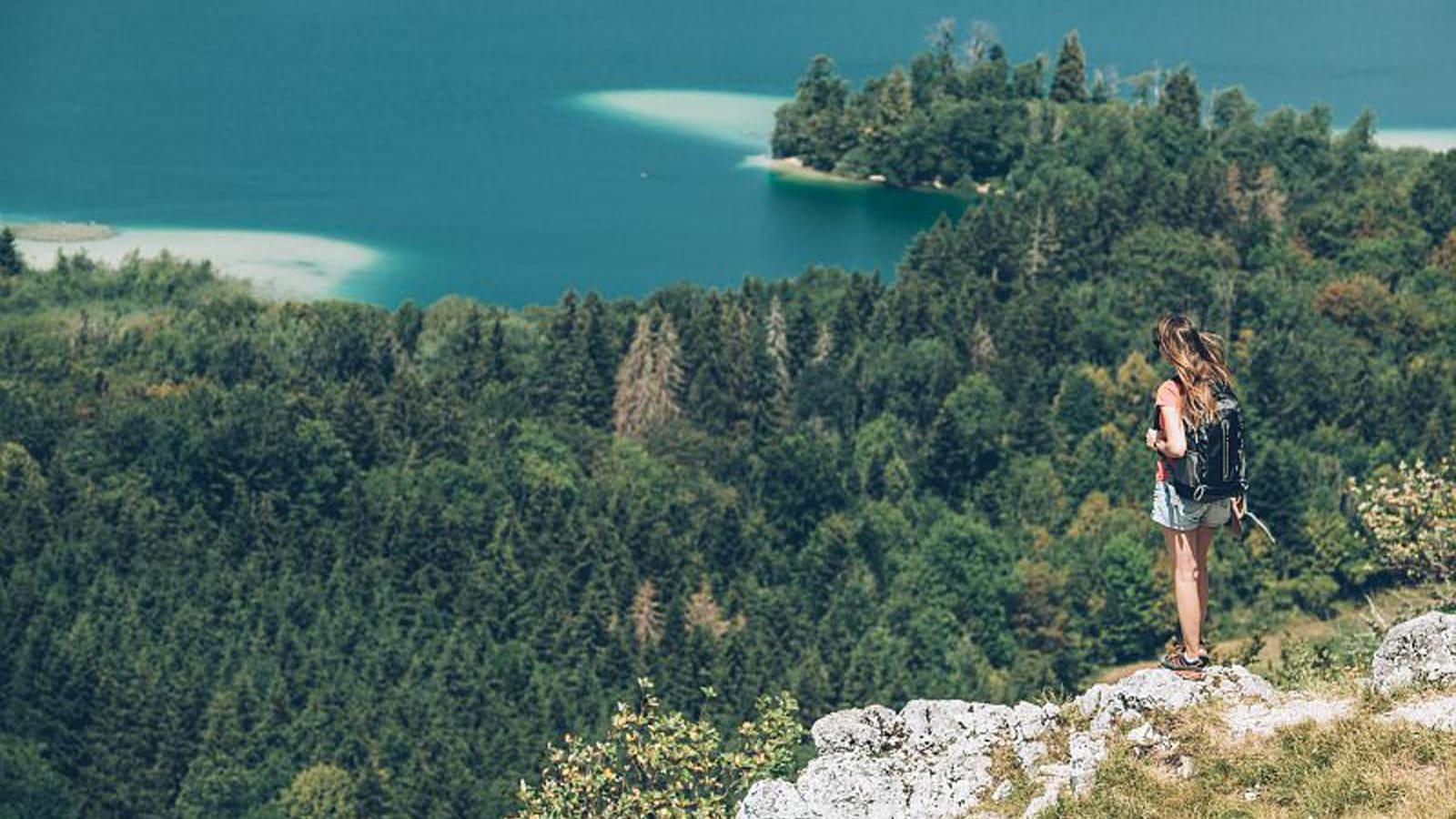 Randonnée au Belvedère des 4 lacs