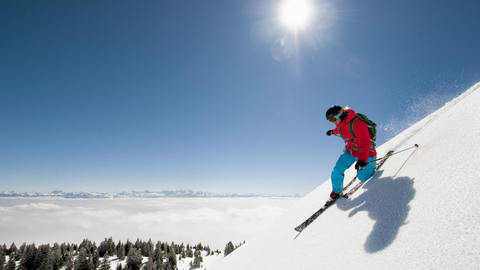 Skier dans les stations du massif du Jura