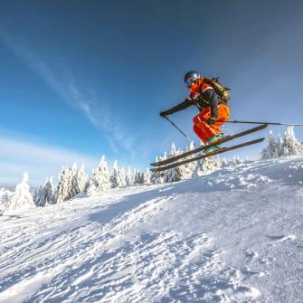 Ski alpin à Monts Jura
