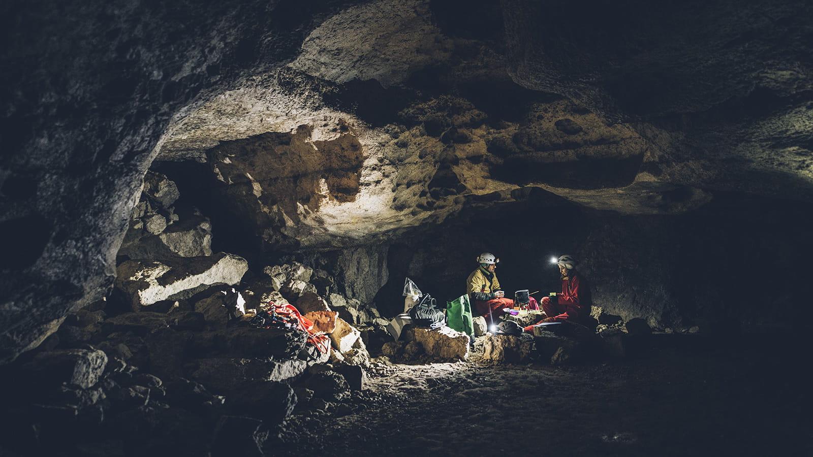 Sortie spéléo fondue dans le Jura