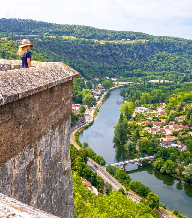 Vue depuis les remparts de la Citadelle de Besançon