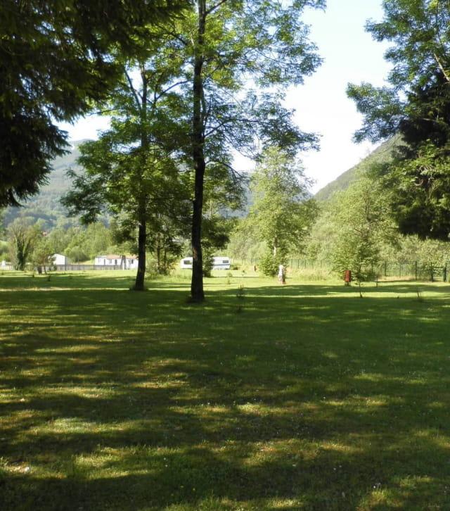 Le camping de la Valserine dans l'Ain