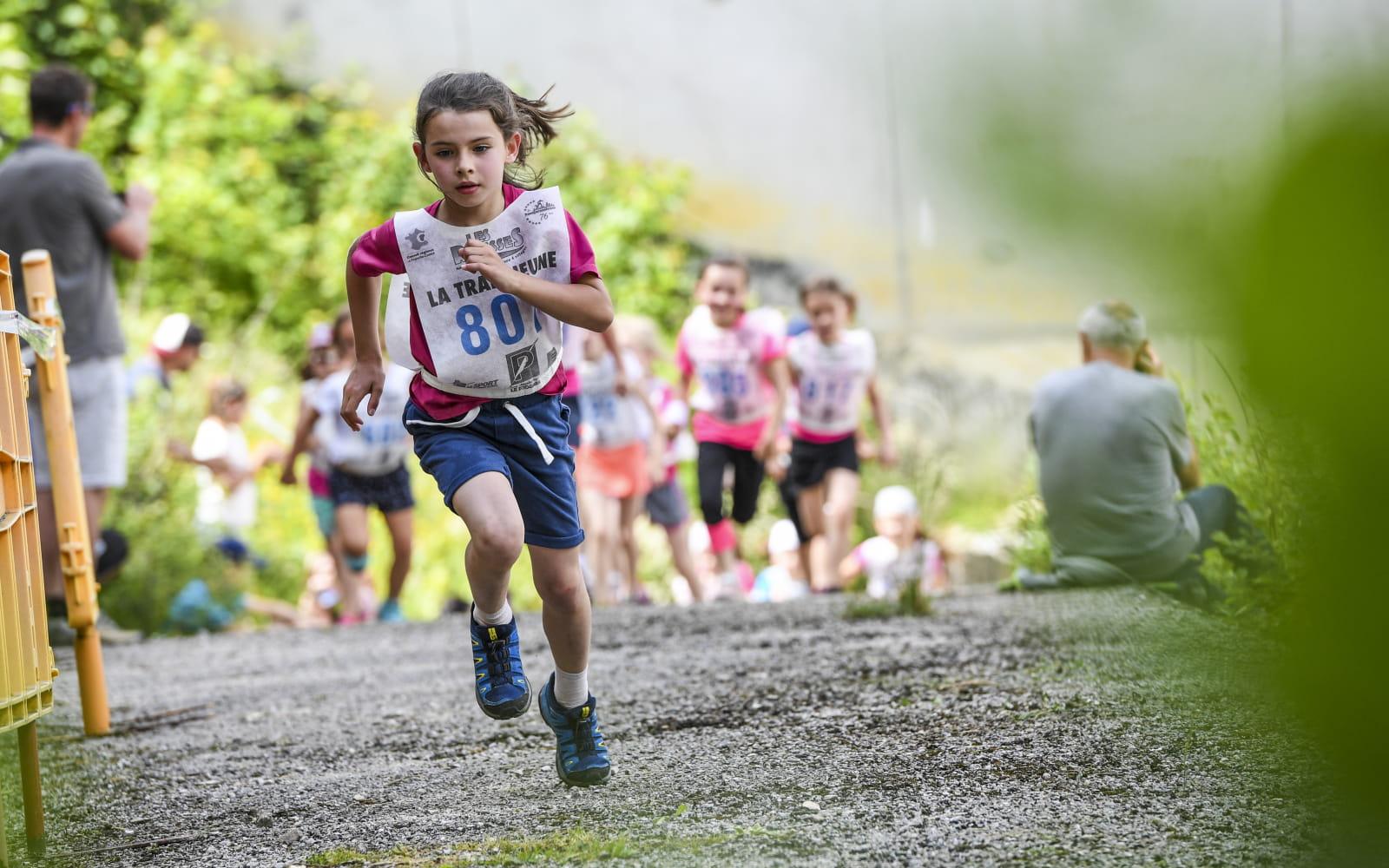Course enfants de la Transju Trail