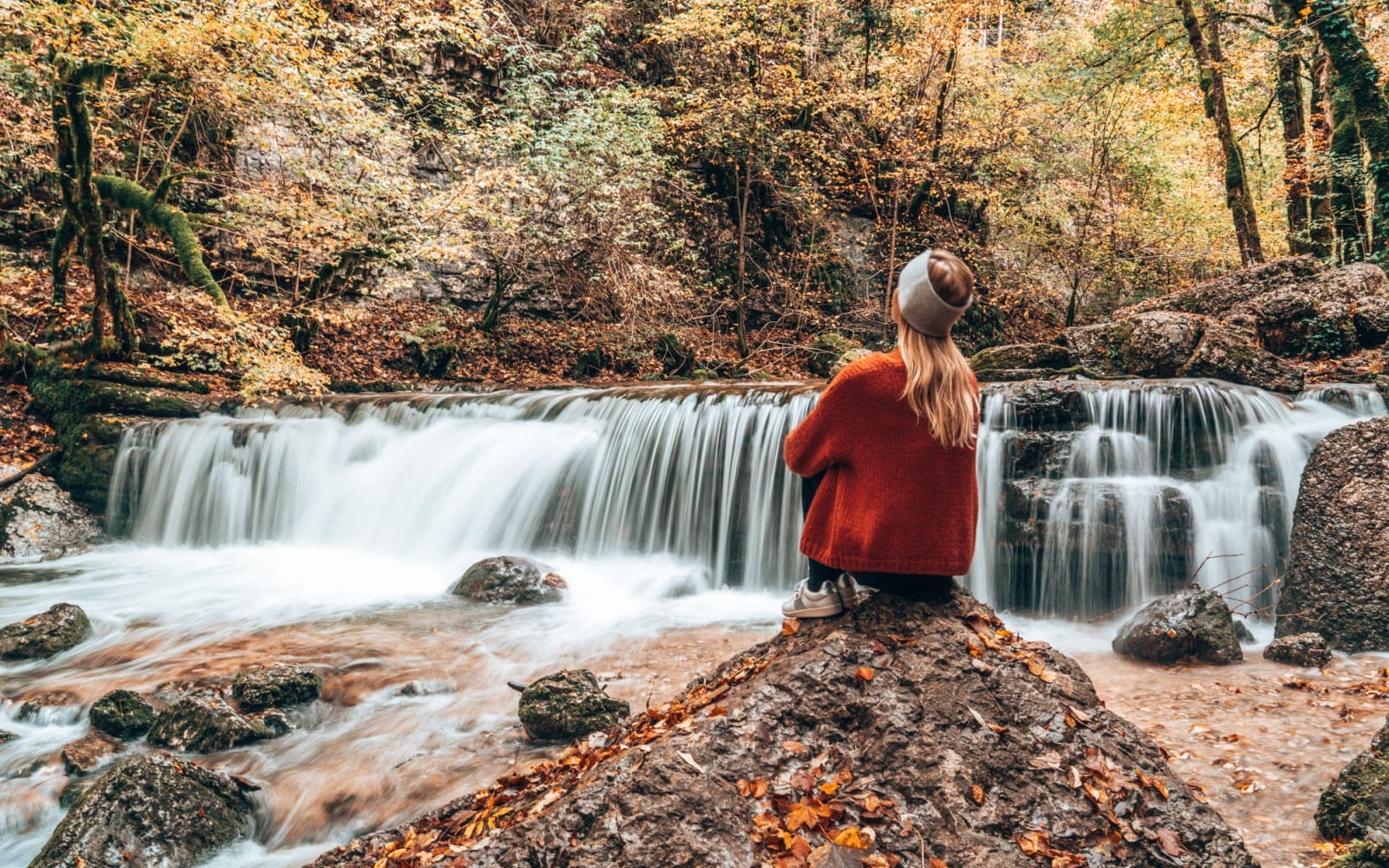 Les Montagnes du Jura en automne