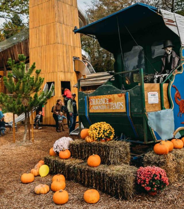 Halloween au Dino-Zoo