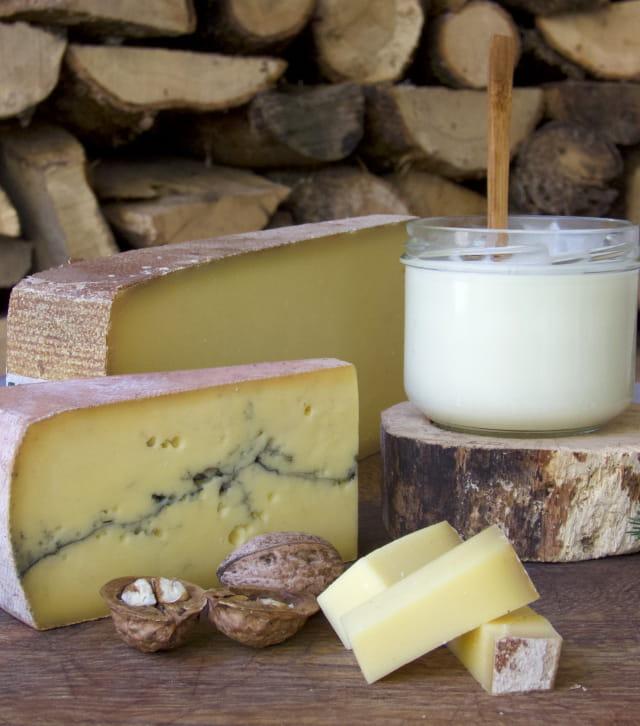 Fromages Montagnes du Jura