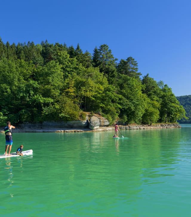 Paddle sur le Lac de Vouglans