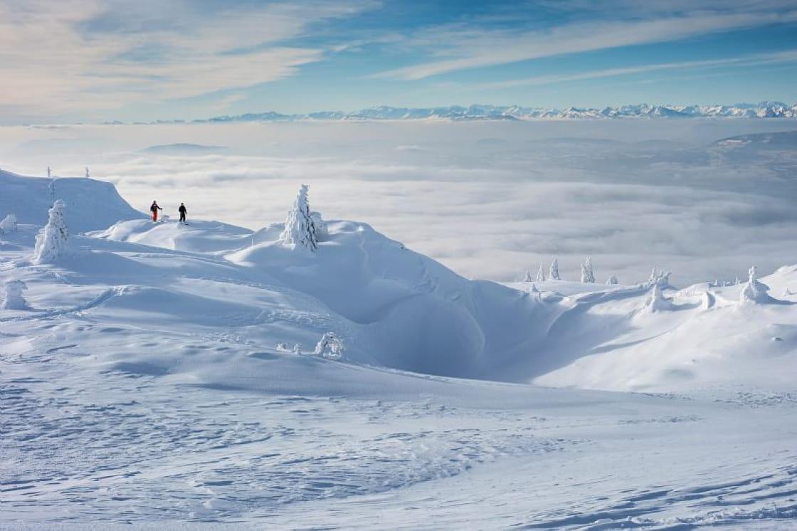 Randonnée nordique au Grand Crêt