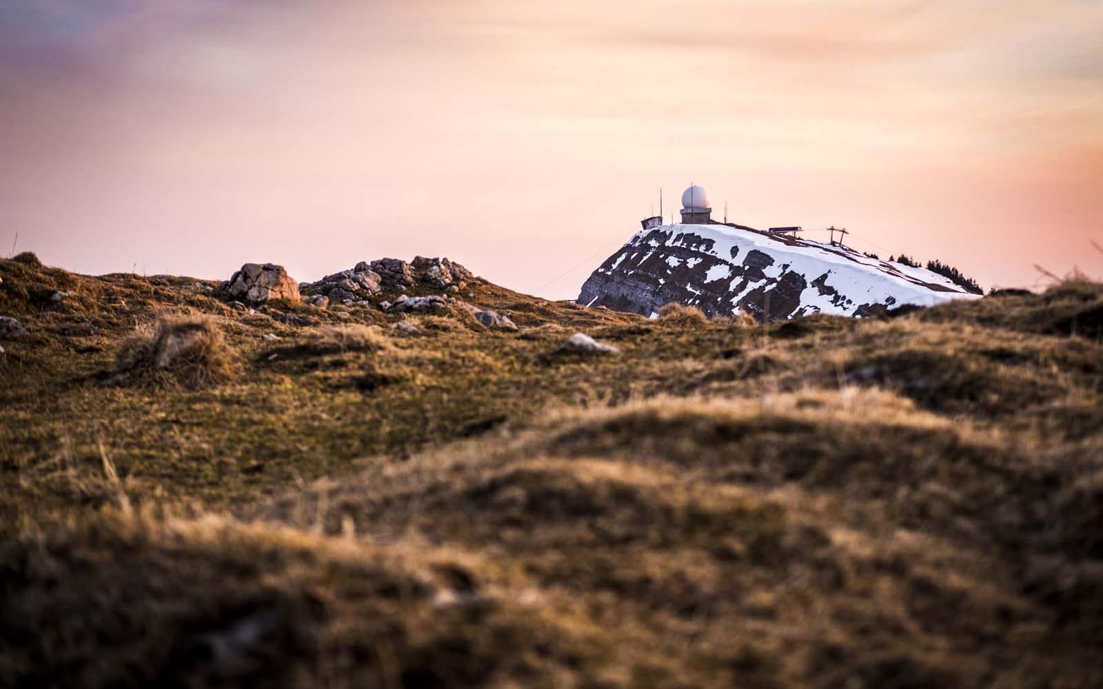 Le sommet de la Dôle dans le Jura