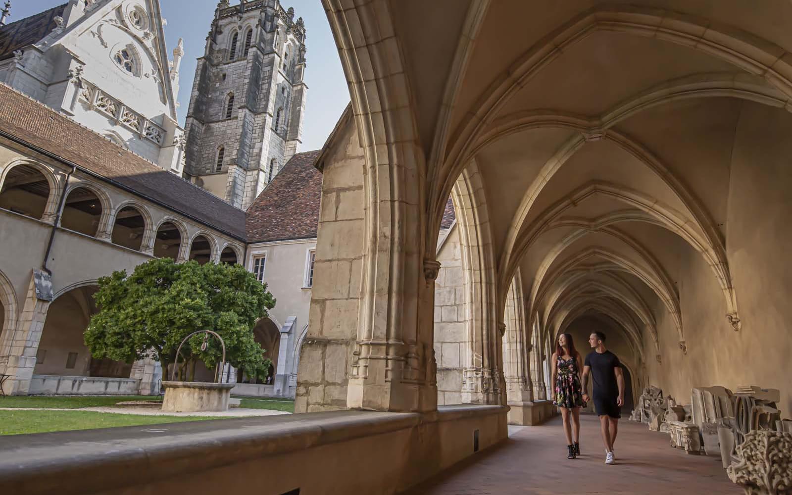 visite du monastère royal de Brou à Bourg-en-Bresse, élu monument préféré des français en 2014